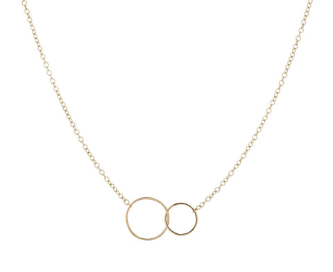 Interlocking Rings Necklace - TWISTonline