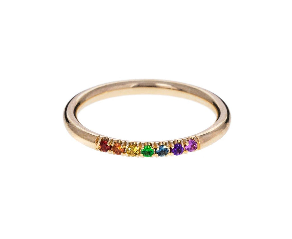 Rainbow Sapphire Stacking Band - TWISTonline