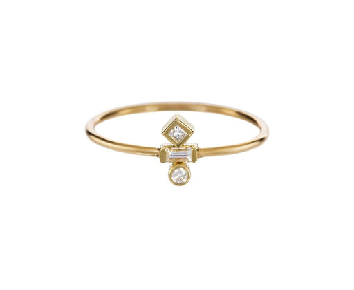 Mixed Diamond Ring - TWISTonline