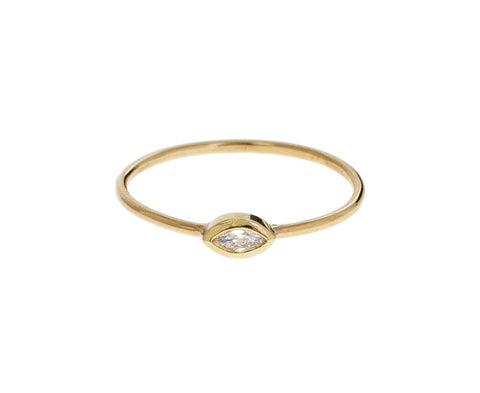 Small Marquise Diamond Ring zoom 1_zoe_chicco_gold_marquise_diamond_ring