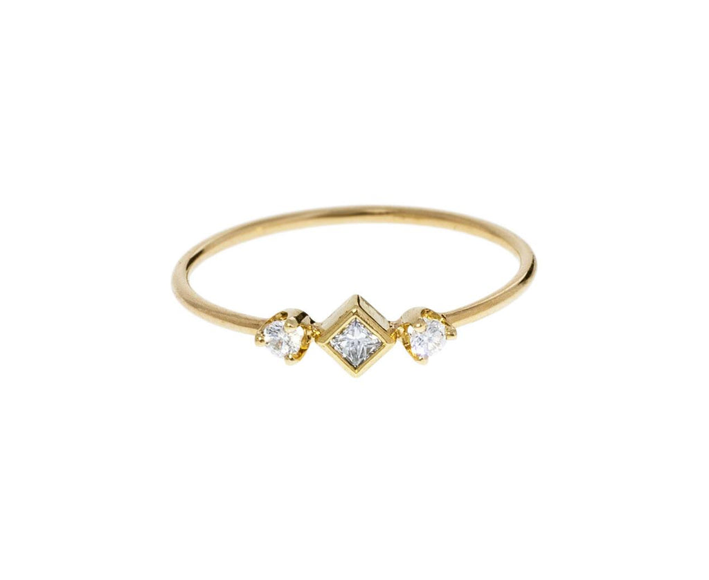 Princess Cut Diamond Ring - TWISTonline
