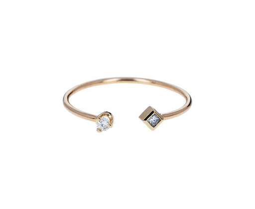 Diamond Cuff Ring - TWISTonline