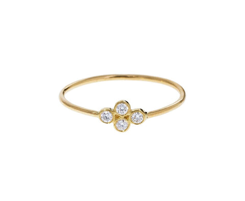 Quad Diamond Ring zoom 1_zoe_chicco_gold_quad_diamond_ring