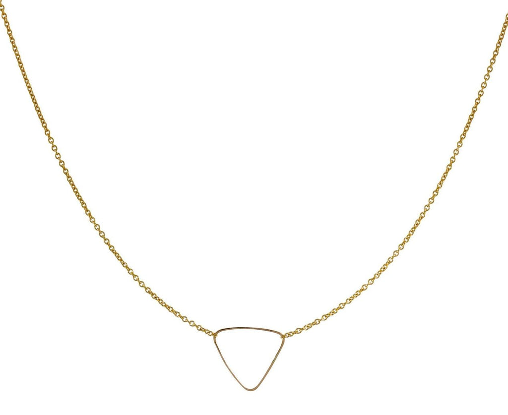Hammered Triangle Necklace - TWISTonline