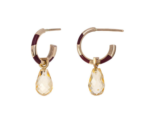 Memphis Candy Citrine Drop Earrings - TWISTonline