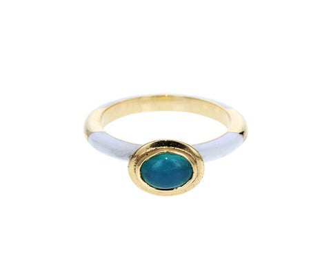 Peruvian Opal Candy Lacquer Ring - TWISTonline