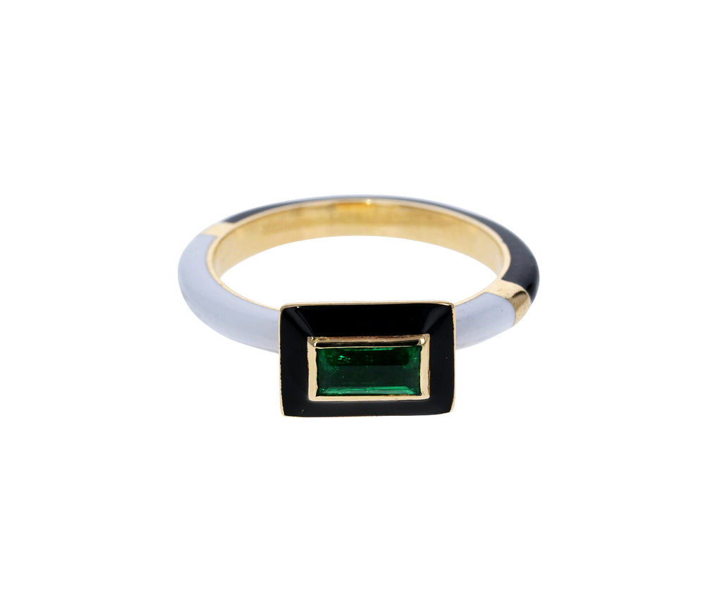 Emerald Candy Lacquer Ring
