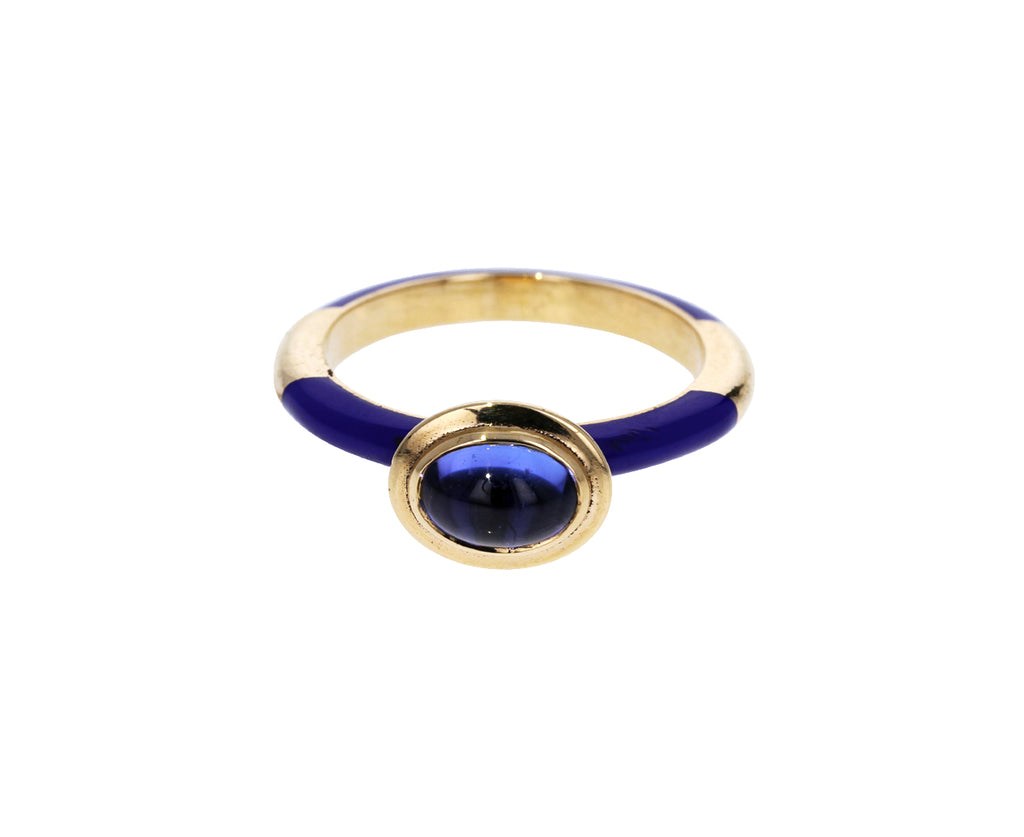 Tanzanite Candy Lacquer Ring