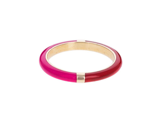 Pink and Red Memphis Lacquer Band - TWISTonline