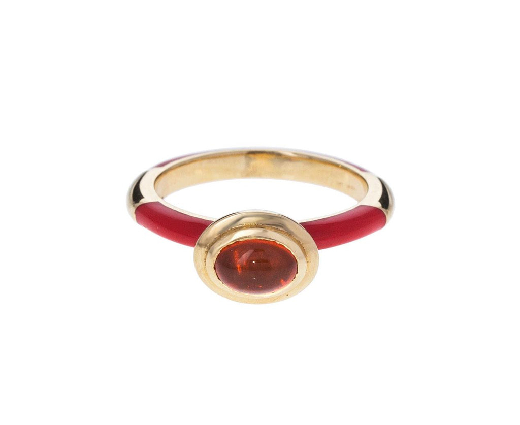 Fire Opal Memphis Lacquer Ring - TWISTonline