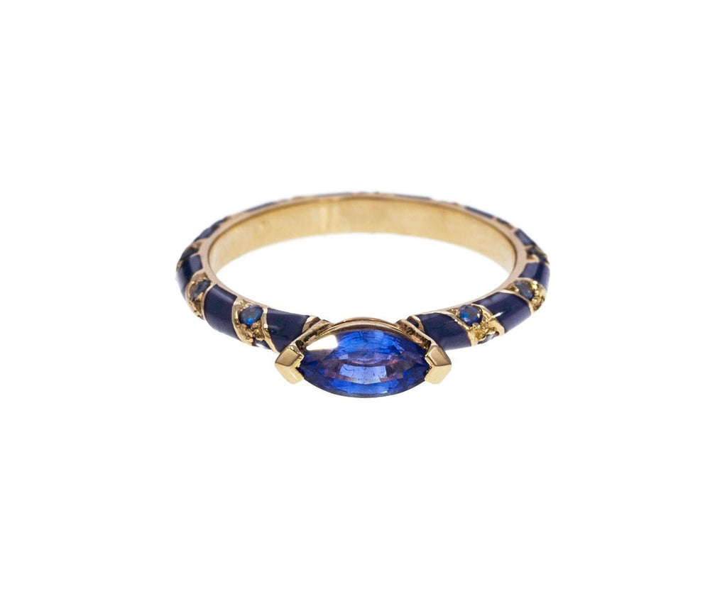 Blue Sapphire Lacquer Ring - TWISTonline