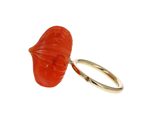 Carnelian Temple Dome Ring - TWISTonline