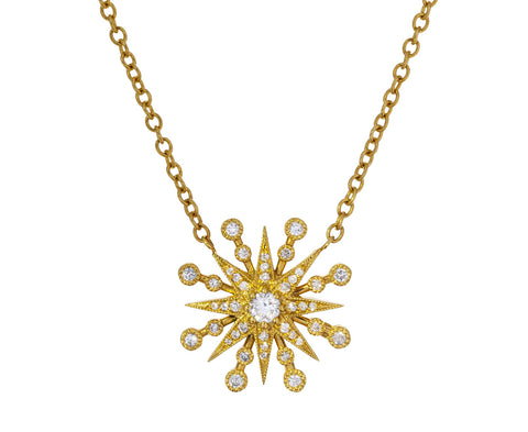 Diamond Star Pendant Necklace - TWISTonline