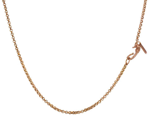 Wave Gold Link Chain Necklace - TWISTonline