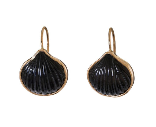 Classic Obsidian Anadara Earrings - TWISTonline