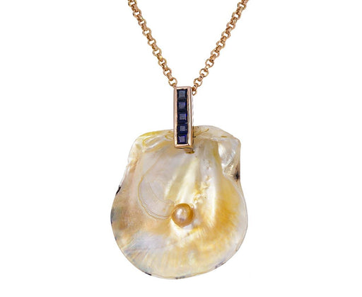 Pearl in Shell Pendant ONLY - TWISTonline