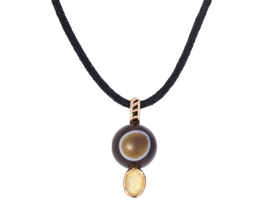 Line Agate and Opal Pendant ONLY zoom 1_dezso_line_agate_opal_pendant