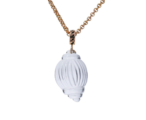 Crystal Tulip Shell Pendant ONLY - TWISTonline