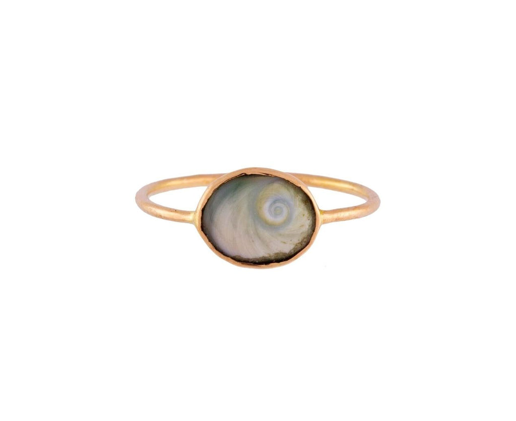 Fossilized Shell Ring - TWISTonline