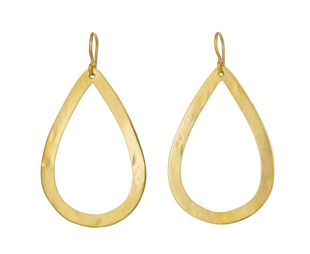 Gold Teardrop Earrings - TWISTonline