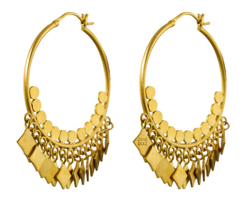 Bohemian Hoop Earrings - TWISTonline