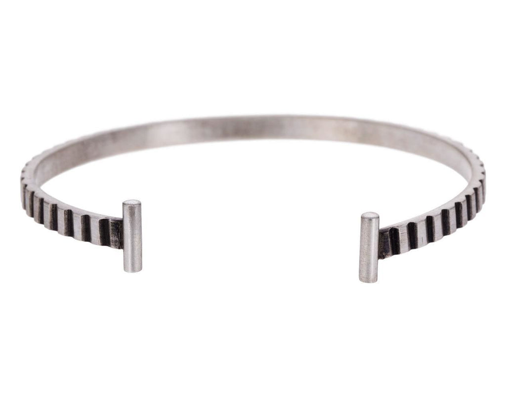 Carved Sterling Silver Cuff Bracelet - TWISTonline