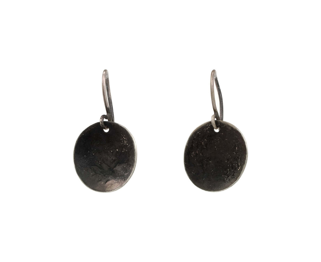 Blackened Disc Earrings - TWISTonline