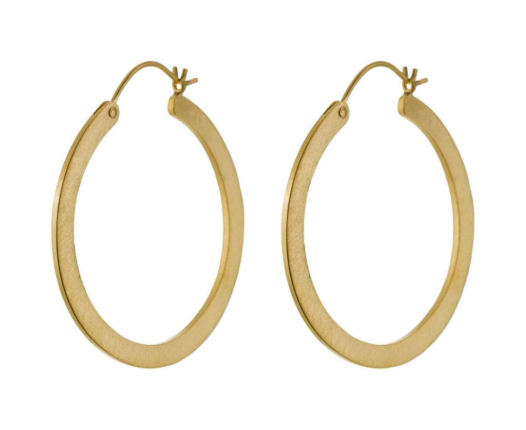 Medium Gold Hoop Earrings - TWISTonline