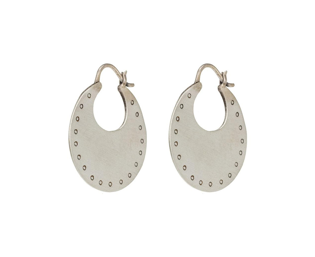 Flat Hoop Earrings - TWISTonline