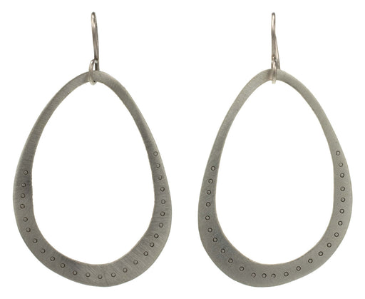 Etched Loop Earrings - TWISTonline