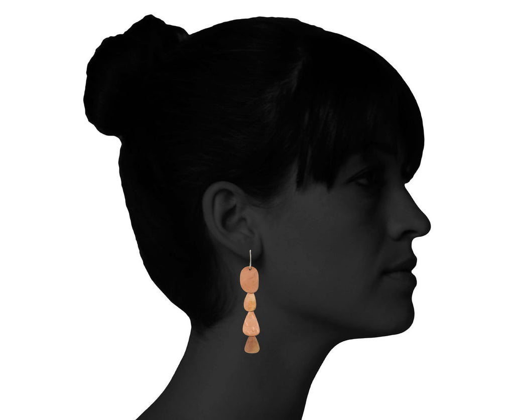 Copper Cascade Earrings - TWISTonline