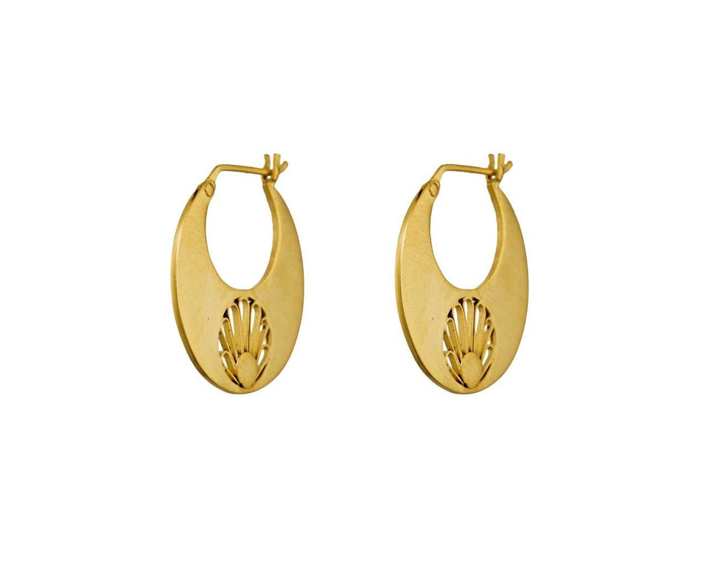 Tapered Hoop Earrings - TWISTonline