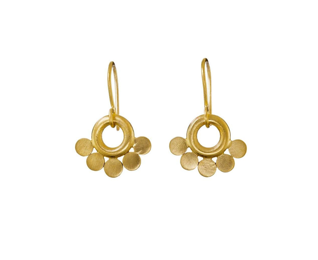 Disc Drop Earrings - TWISTonline