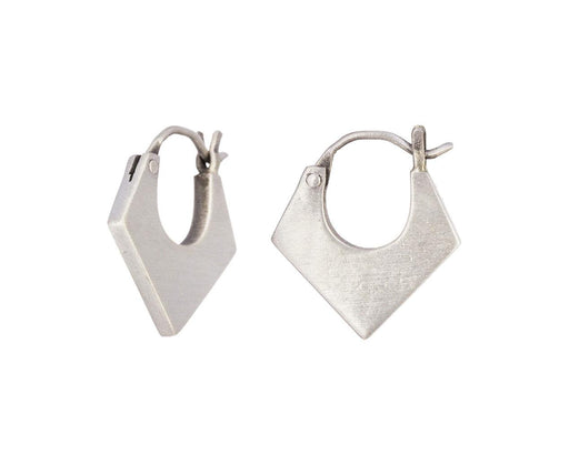 Three Cornered Hoop Earrings - TWISTonline