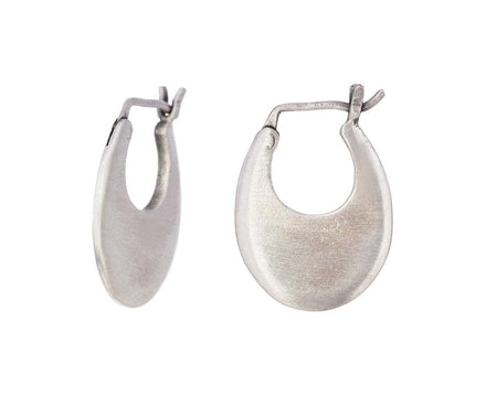 Small Oval Hoop Earrings - TWISTonline