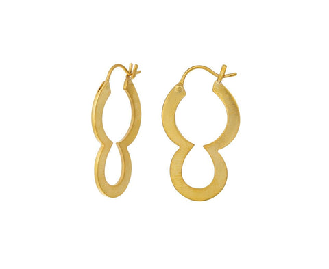 Double Loop Hoop Earring - TWISTonline