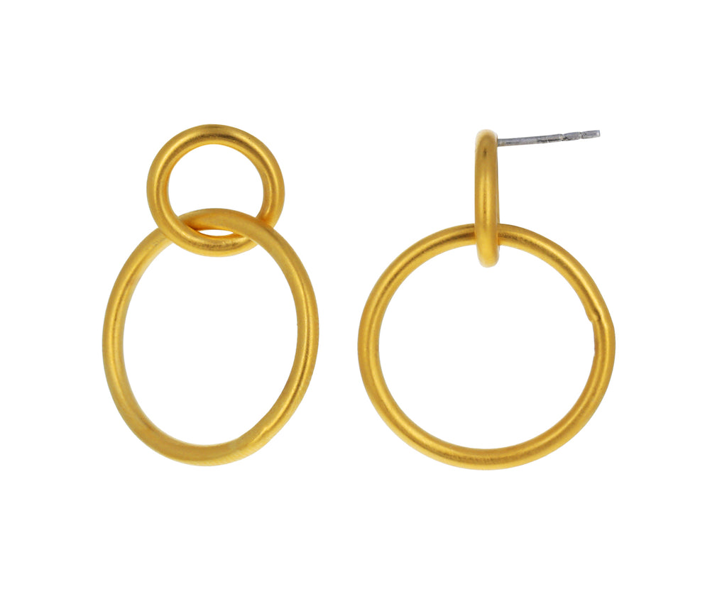 Double Hoop Earring - TWISTonline