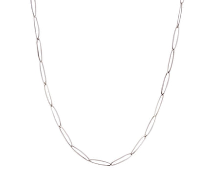Sterling Silver Oval Link Chain Necklace - TWISTonline