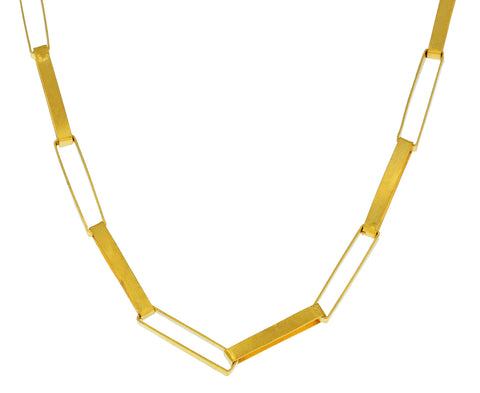 Thin Box Chain Necklace