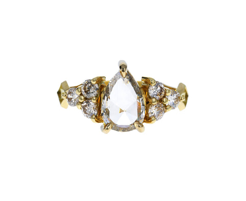 Champagne Diamond Nico Ring - TWISTonline