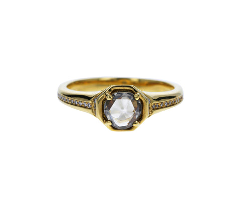 Gray Diamond Florin Ring - TWISTonline