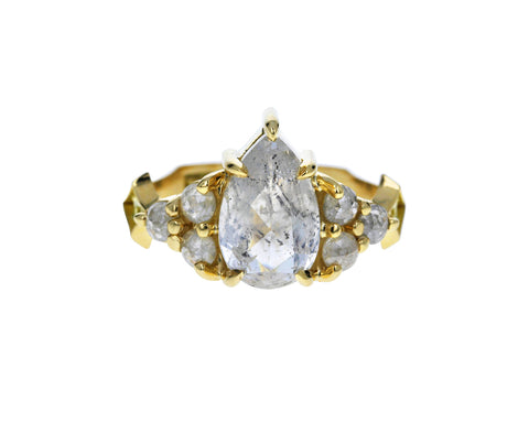 Icy Gray Diamond Nico Ring - TWISTonline