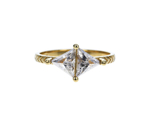 Salt and Pepper Diamond Kira Ring - TWISTonline
