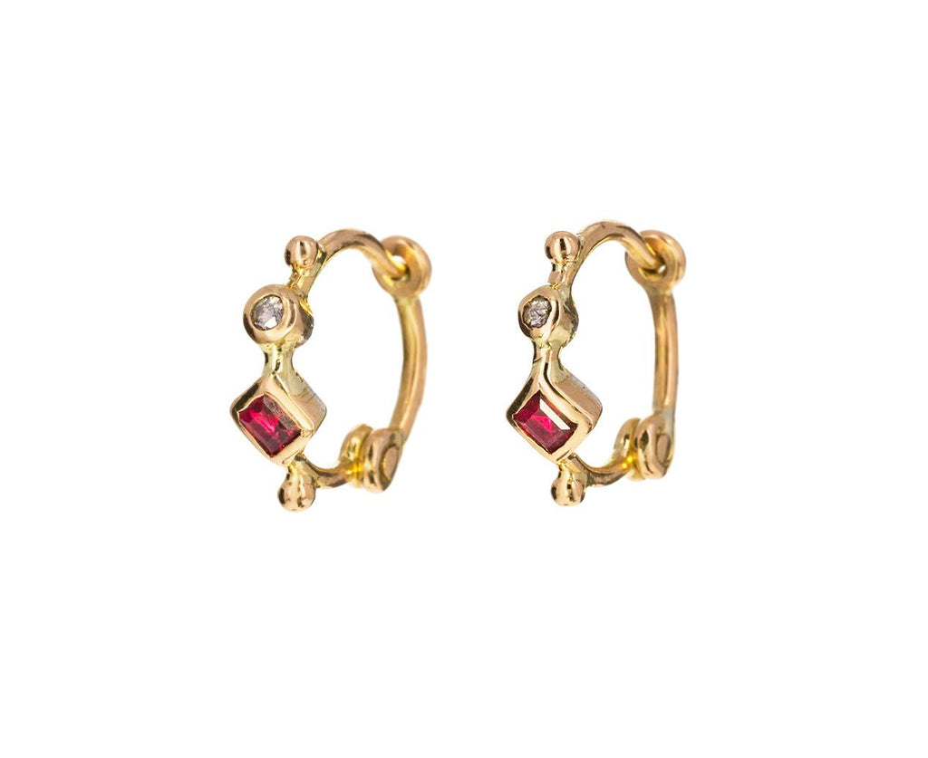 Anneaux Simple Hoop Earrings - TWISTonline