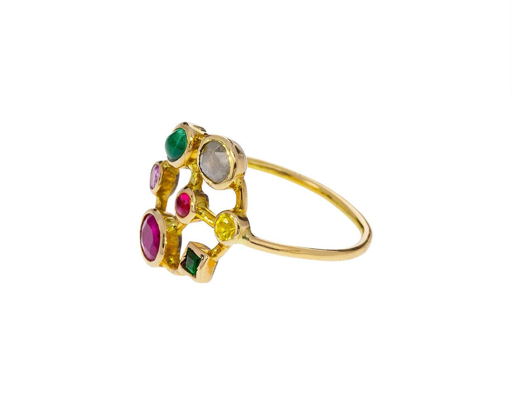 Multi-Gem Couronnee Ring - TWISTonline