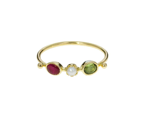 Multi-Gem Trio Ring - TWISTonline