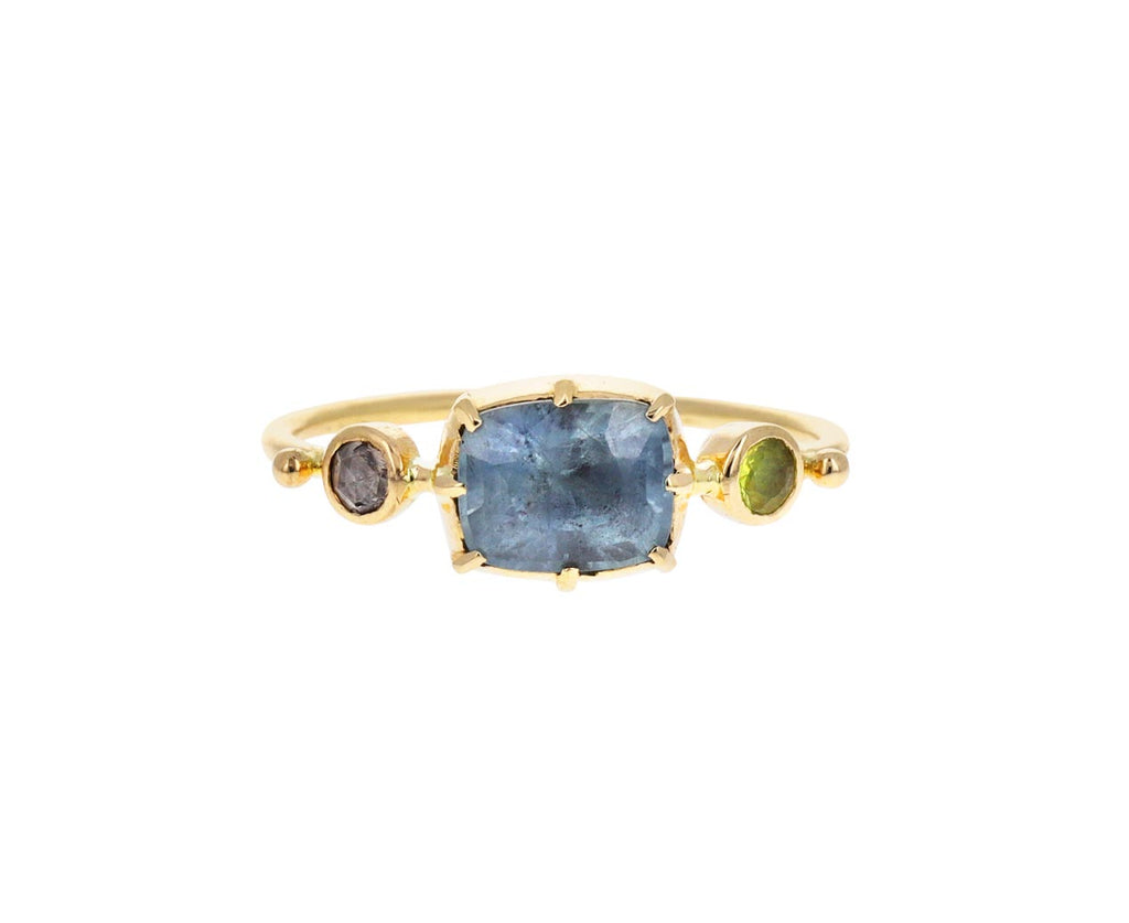 Blue Sapphire Simple Ring