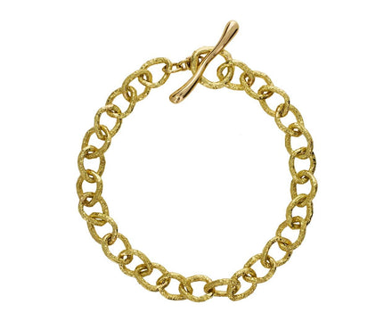 Gold Link Inside Out Bracelet - TWISTonline