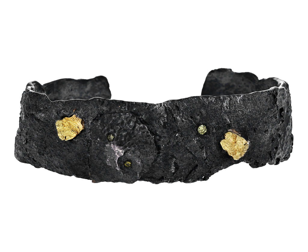 Yellow Diamond Respiro Cuff Bracelet