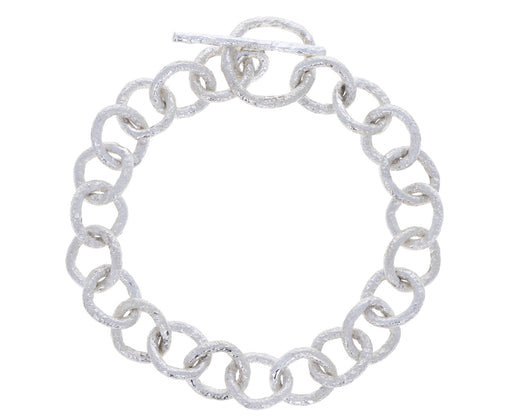 Spark and Soul Silver Chain Bracelet